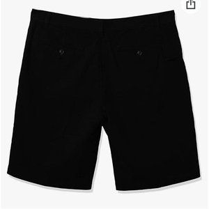 Dockers Flat Front Perfect Shorts Black Size 36